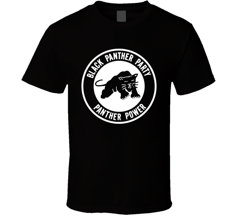 Black Panther Party T Shirt
