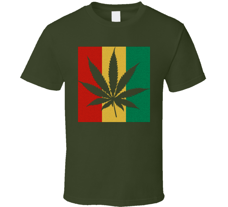Rasta true don weed ganja breezy military T Shirt