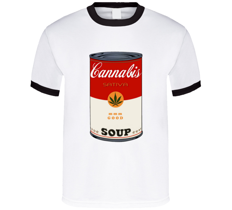 Campbell's Soup Sativa Weed That 70's Show Steven Hyde Eric Foreman Inspired T Shirt