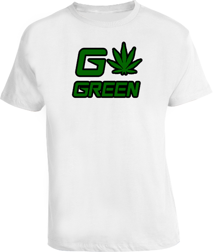 Go Green Funny Pro Marijuana Political T Shirt