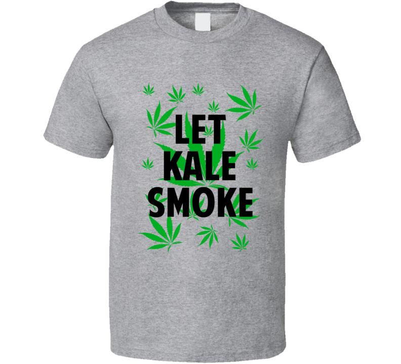 Let Kale Smoke Legalize Weed Marijuana Personalized Athlete T Shirt