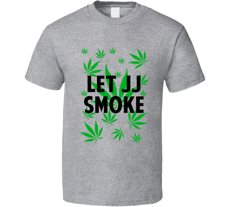 Let Jj Smoke Legalize Weed Marijuana Personalized Athlete T Shirt
