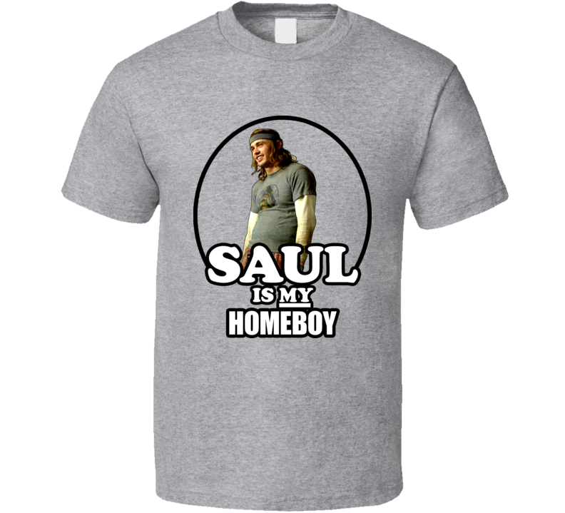 Saul Silver Pineapple Express Homeboy Weed T Shirt