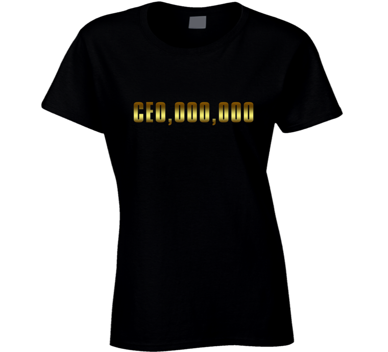 Ce0,000,000 Millionaire T-shirt