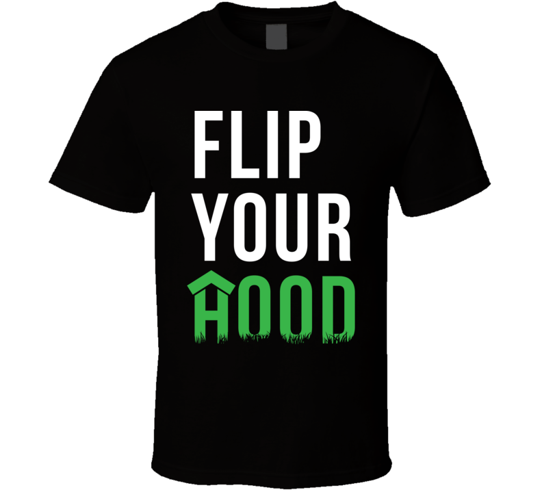 Flip Your Hood Black Empowerment Ownership T Shirt