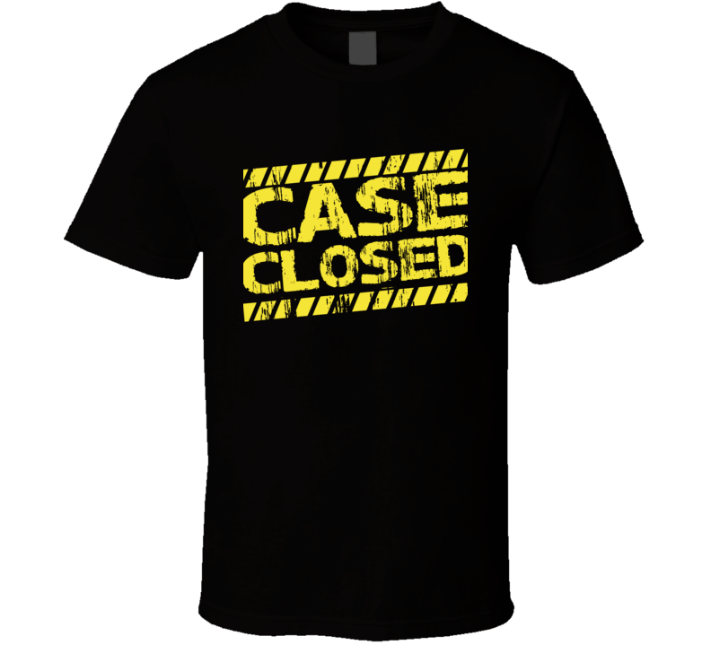 Case Closed Best Gift T Shirt