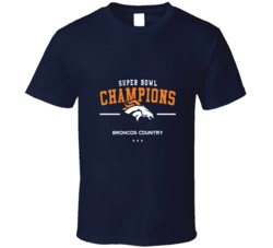 Denver Superbowl Champions Football T Shirt