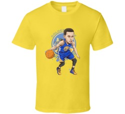 Stephen Curry MVP Warriors All Star Golden State Basketball T Shirt