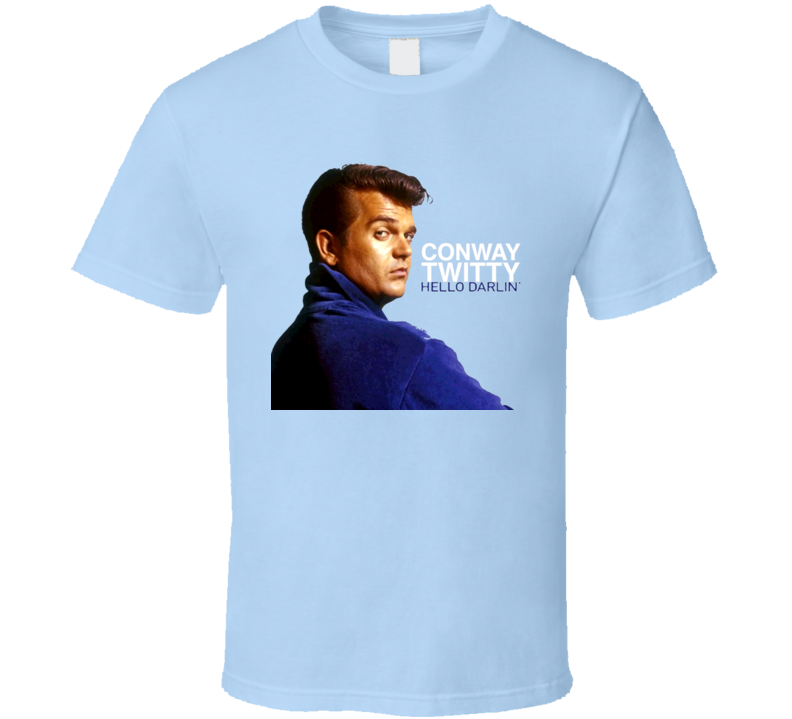 Conway Twitty Country Music Singer Guitarist T Shirt