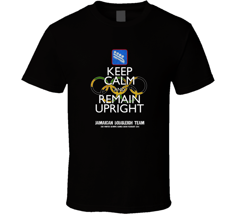 2014 Winter Olympics Jamaican Bobsled Team Cool Runnings T Shirt