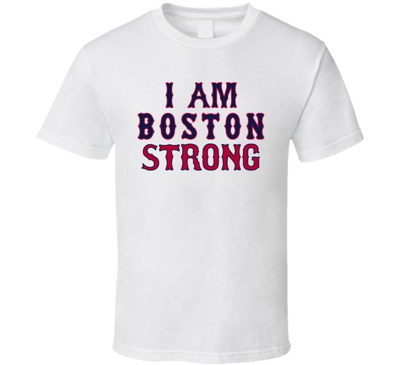 I Am Boston Strong Pride Marathon Tribute Baseball Style T Shirt