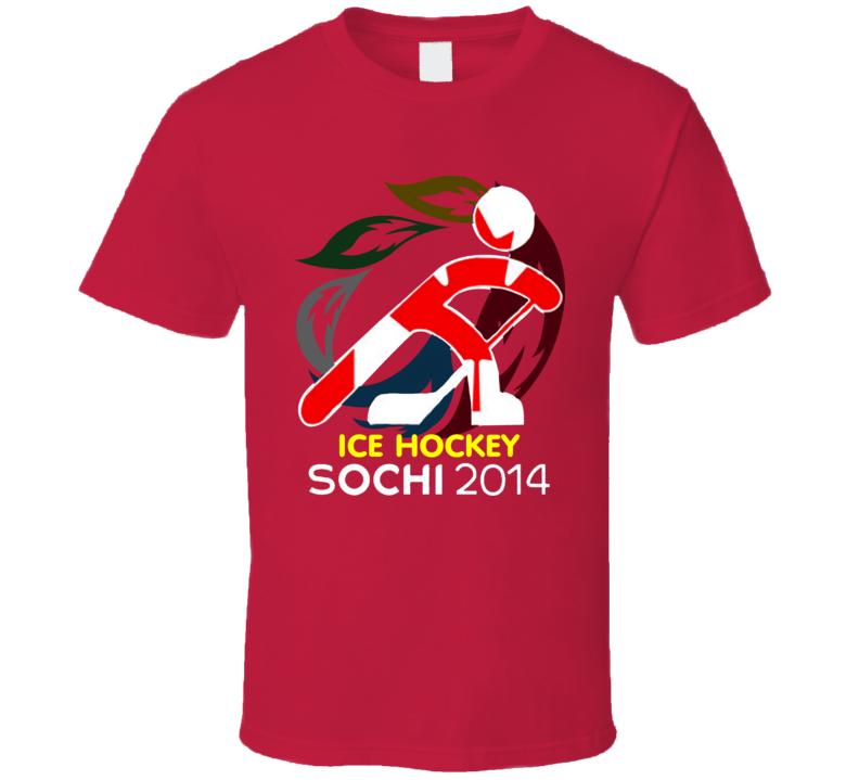 Sochi 2014 Winter Olympics Team Canada Hockey T Shirt