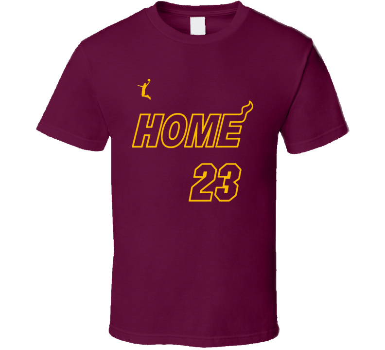 Home Cleveland King Ohio Basketball T Shirt