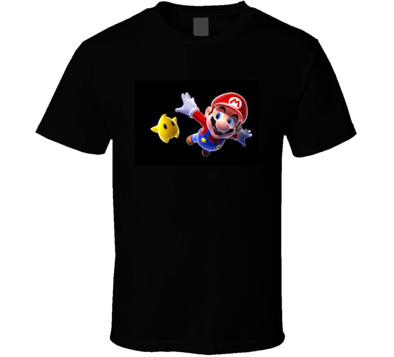 Super Mario Bros 25th Anniversary Video Gamer T Shirt