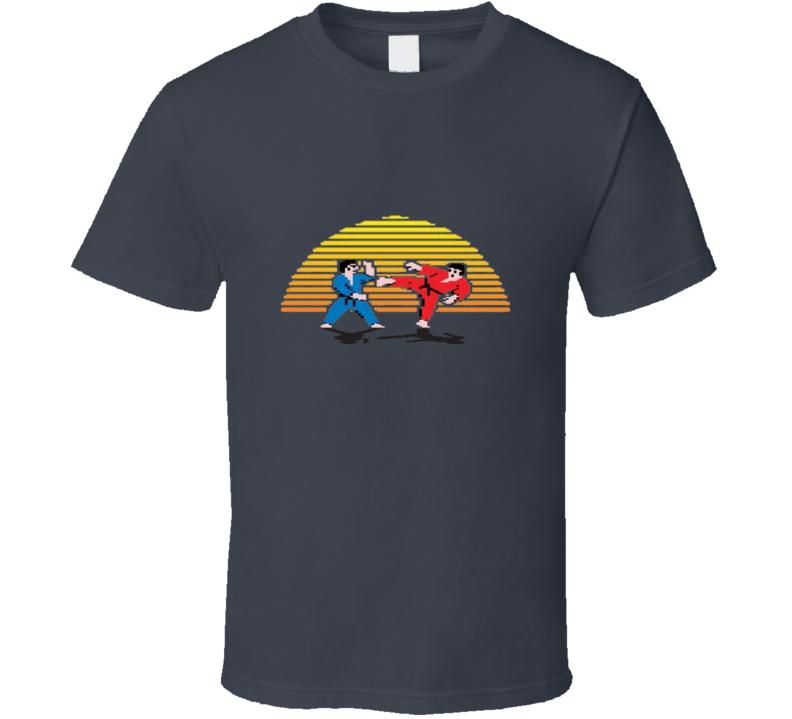 karate Nintendo Nes Video Game Classic Gamer T Shirt