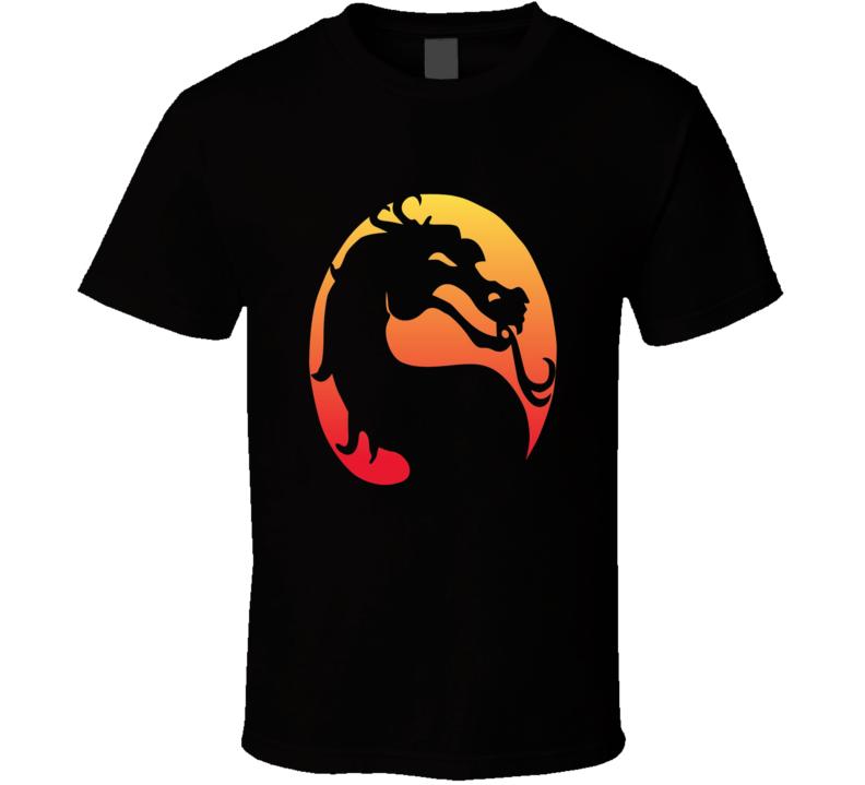 Mortal Kombat Classic Vintage Video Game Fighting T Shirt