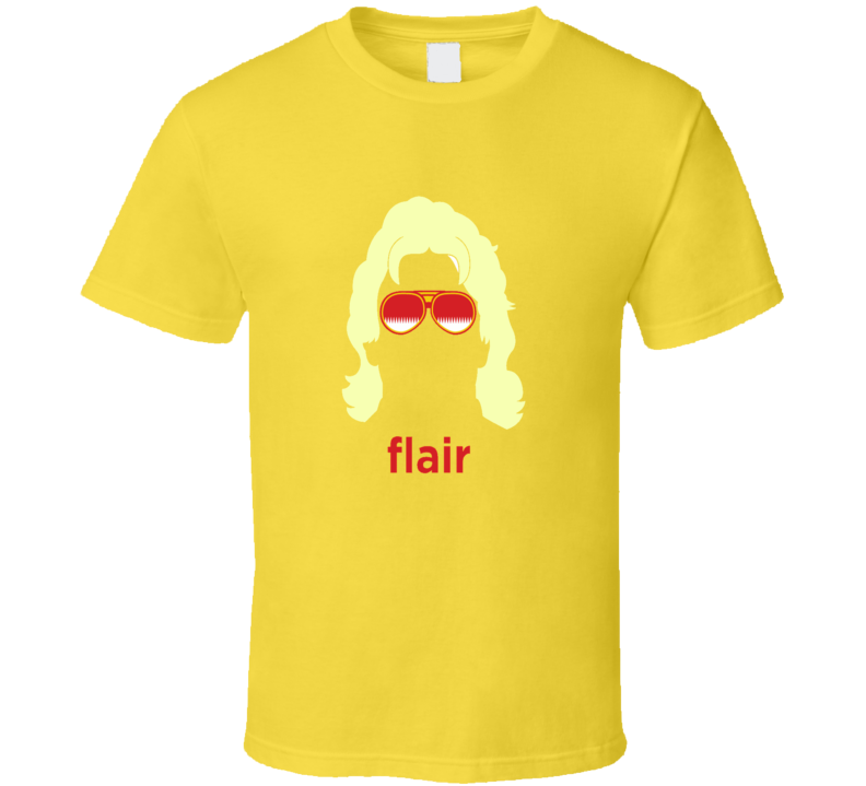 Rick Flair Classic Retro SHades Nature Boy Face Wrestling T Shirt