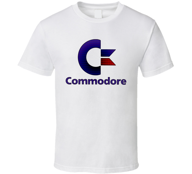 Commodore Computer System T Shirt