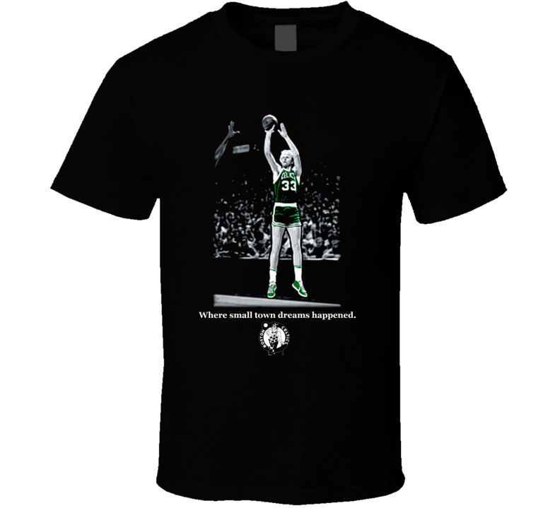 Larry Bird Cool Boston Basketball Legend T Shirt