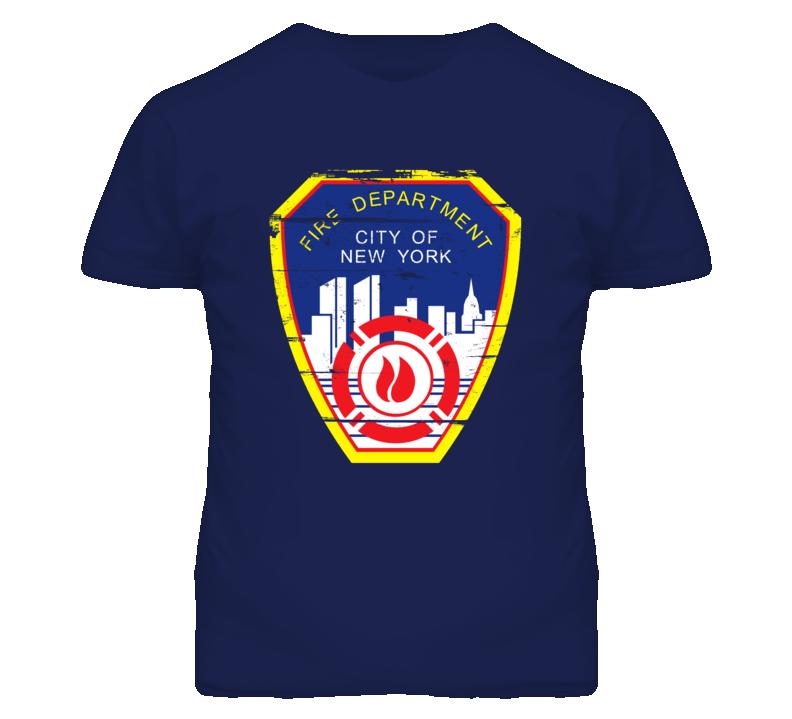 New York City Fire Department T Shirt