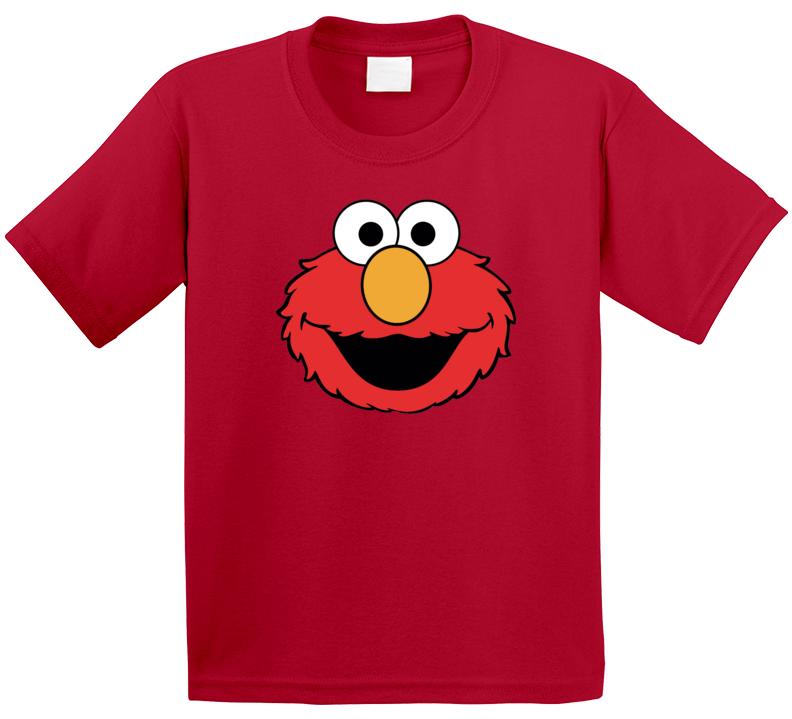 Elmo Kids Muppet Tv Show Sesame Red Halloween T Shirt