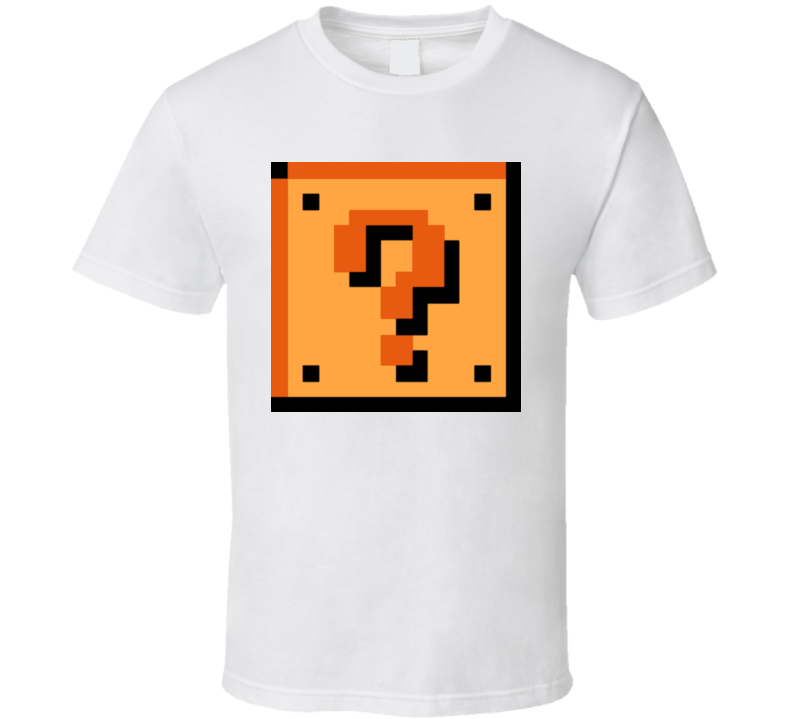 Mario Question Box T Shirt