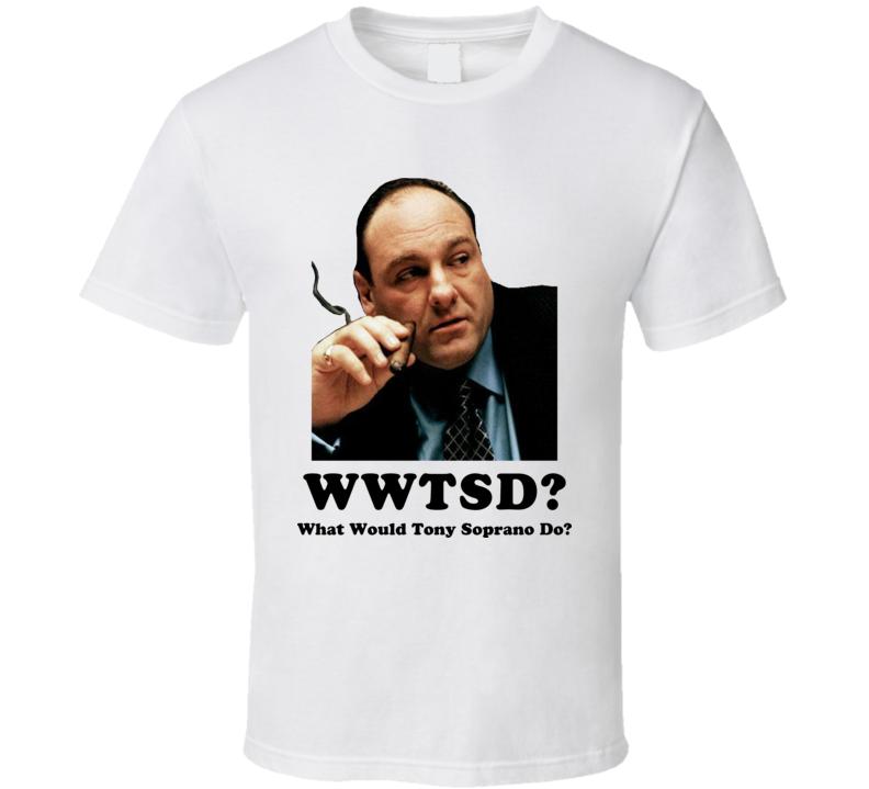 Tony Soprano Mafia T Shirt