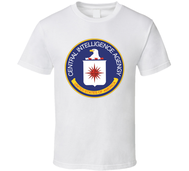 Central Intelligence Agency Cia Logo T Shirt