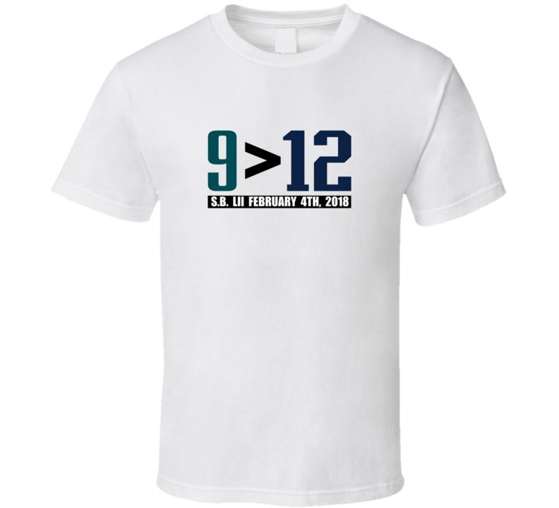 Foles Greater Than Brady Philadelphia Champions Football T Shirt