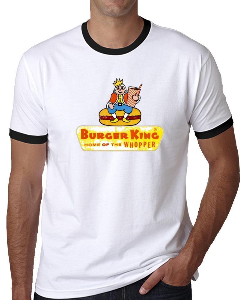 Burger King 1957 Whopper Fast Food Chain Retro Vintage T Shirt