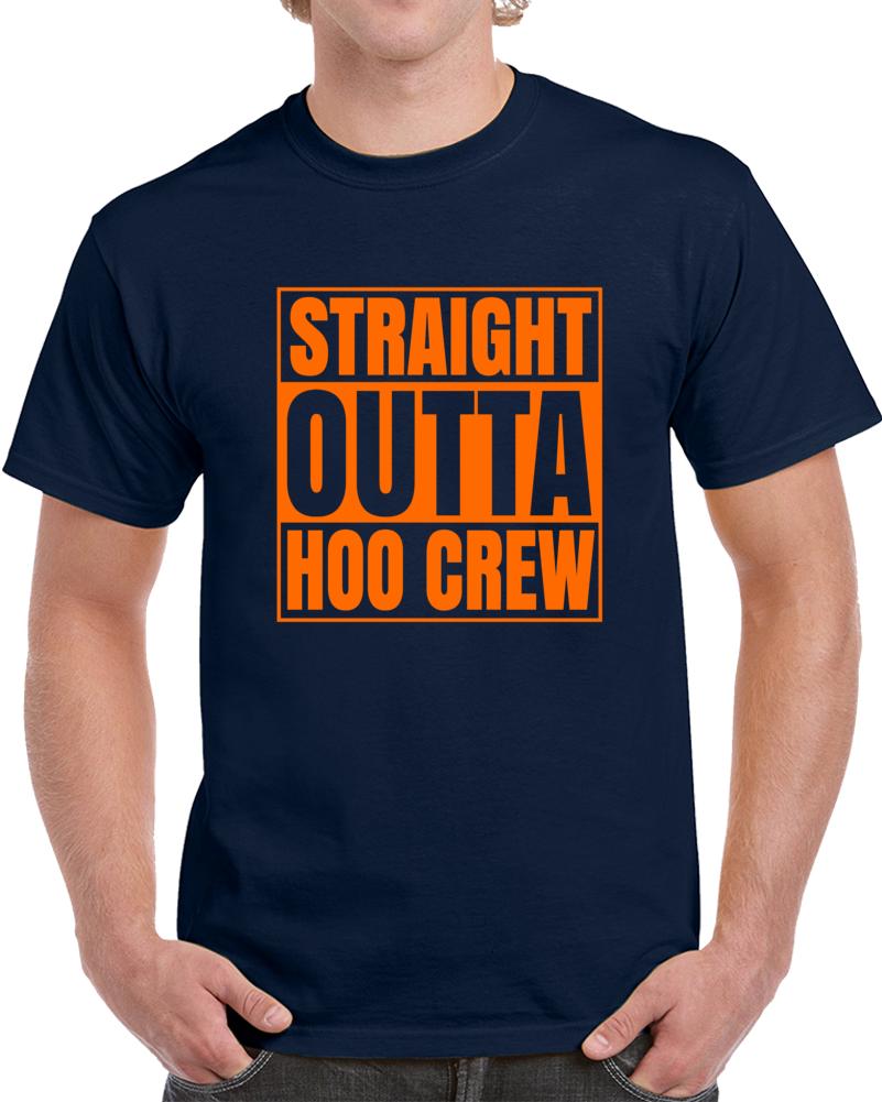 Straight Outta Hoo Crew Virginia March Madness V3 Basketball T Shirt