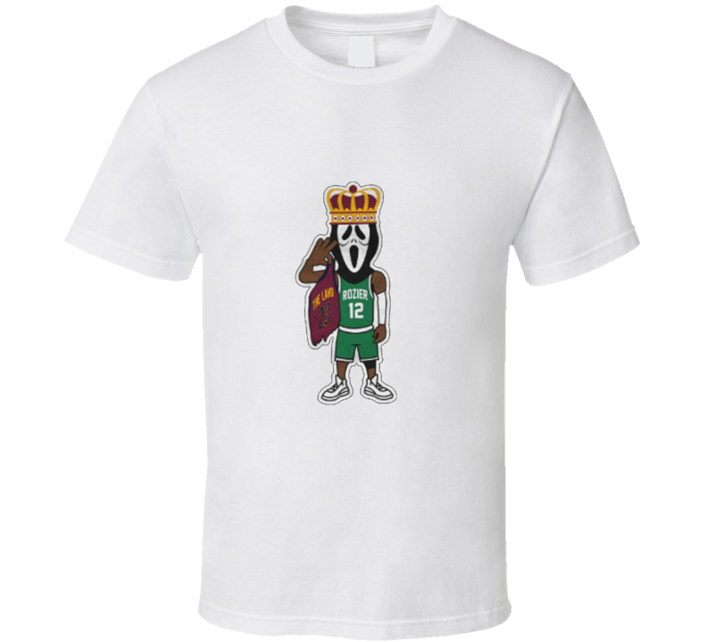 Scary Terry Rozier Scream Mask Lebron The King Boston Basketball V1 T Shirt