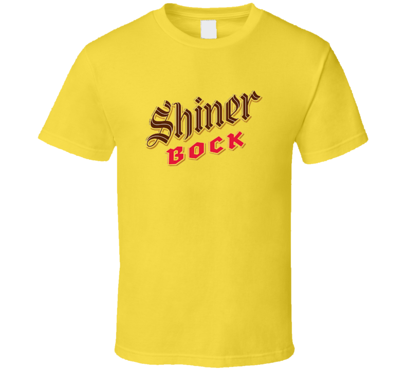 Shiner Bock Texas Beer Brewery 1909 Retro Vintage T Shirt