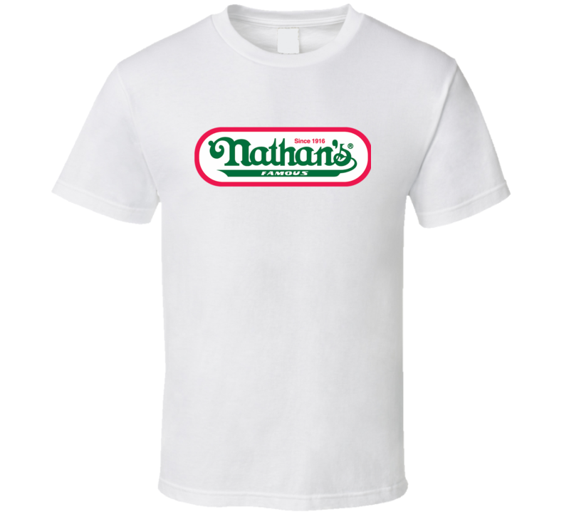 Nathans Hot Dogs Coney Island Hot Dog Eating Competition T Shirt