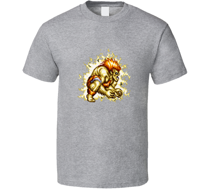 Blanka Street Fighter Classic Retro Vintage Video Game T Shirt
