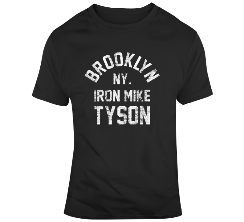Brooklyn New York Iron Mike Tyson Boxing T Shirt