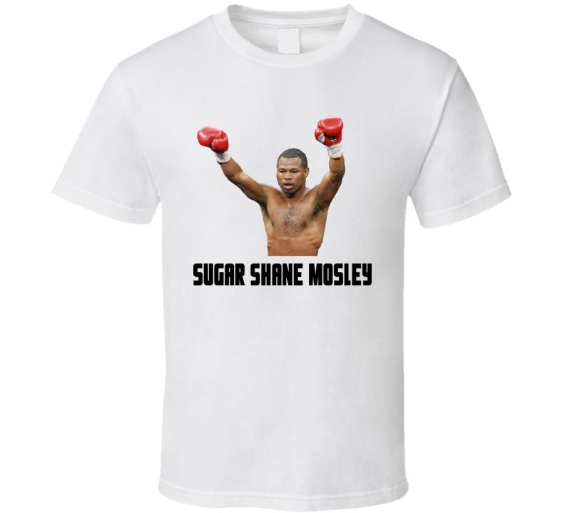 Sugar Shane Mosley Boxing T Shirt