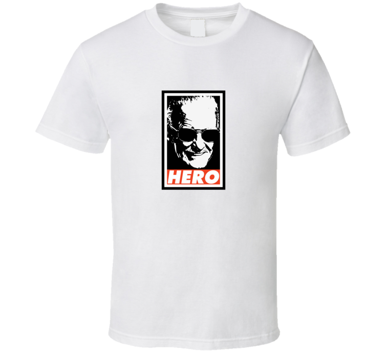 Stan Lee Hero Tribute Memorial Comic Creato T Shirt