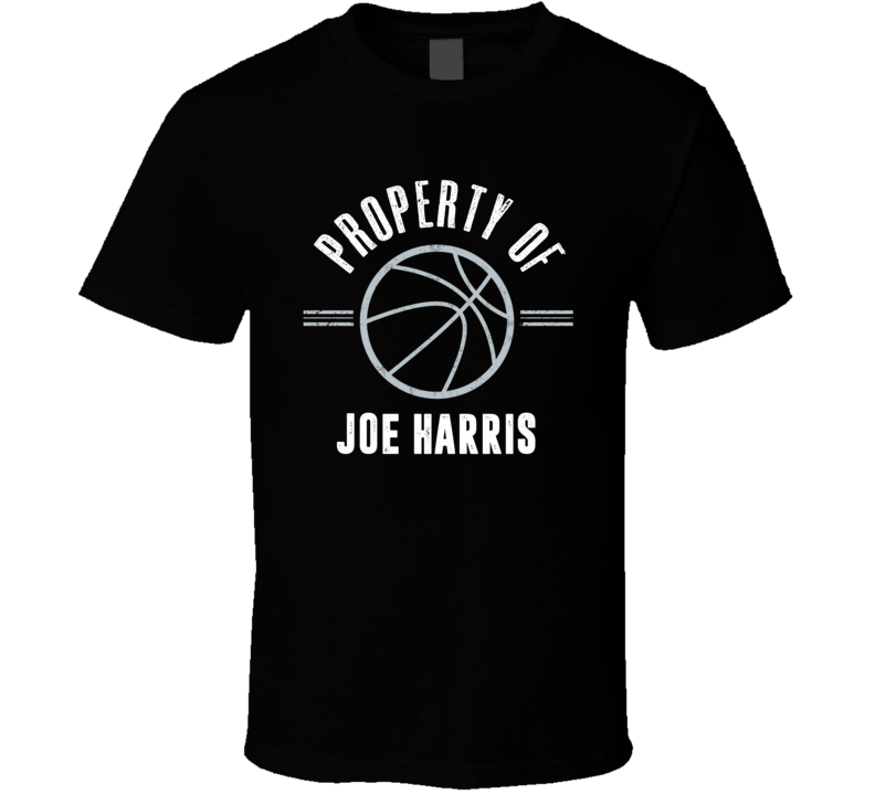 Property Of Joe Harris Brooklyn Basketball Fan T Shirt