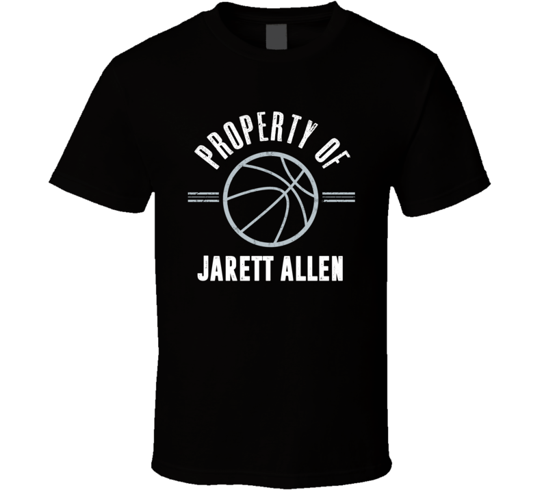 Property Of Jarrett Allen Brooklyn Basketball T Shirt