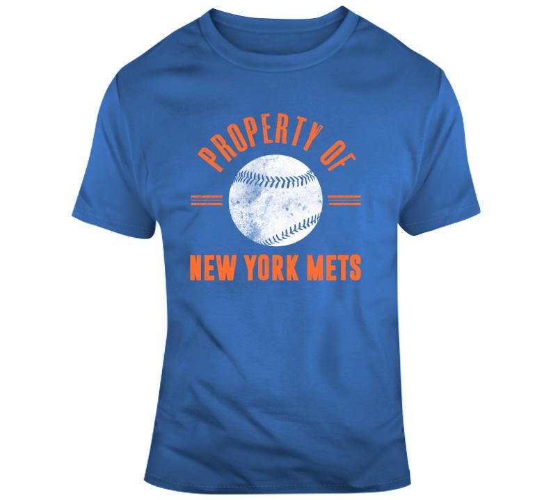 Property Of New York Mets Baseball Fan T Shirt