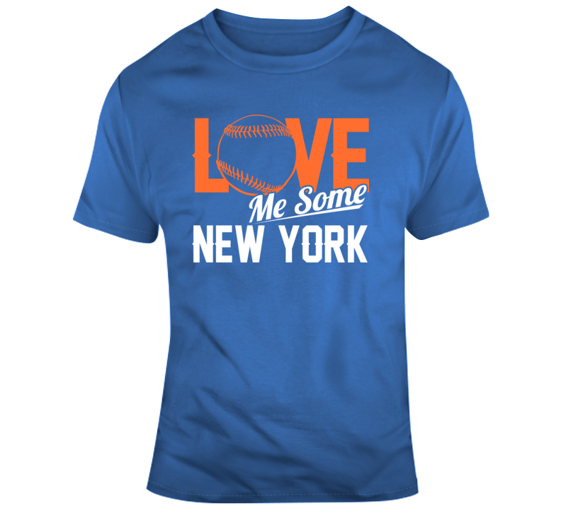Love Me Some New York Baseball Fan T Shirt