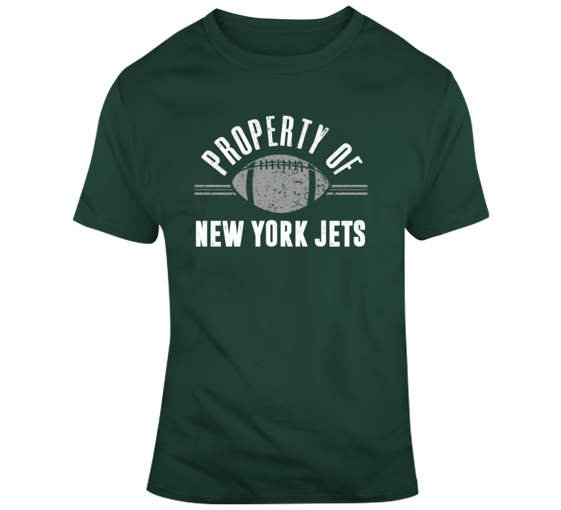 Property Of New York Jets Football T Shirt