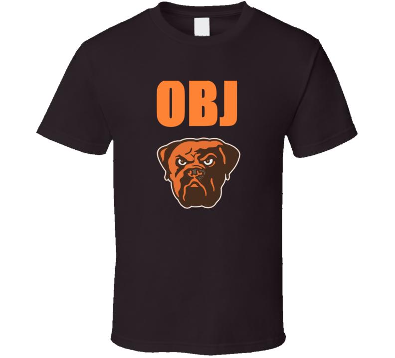Obj Odell Beckham Jr. Cleveland Football T Shirt