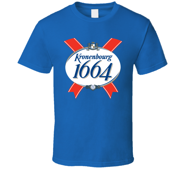Kronenbourg French Beer Company T Shirt