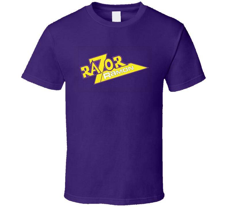 Razor Ramon Logo Retro Wrestling T Shirt
