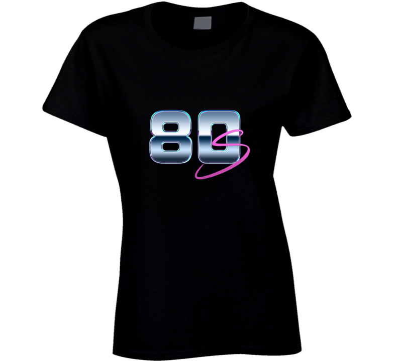 Ladies 1980's Retro Cool Ladies T Shirt