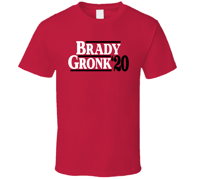 Brady Gronk 2020 Tampa Bay Football T Shirt