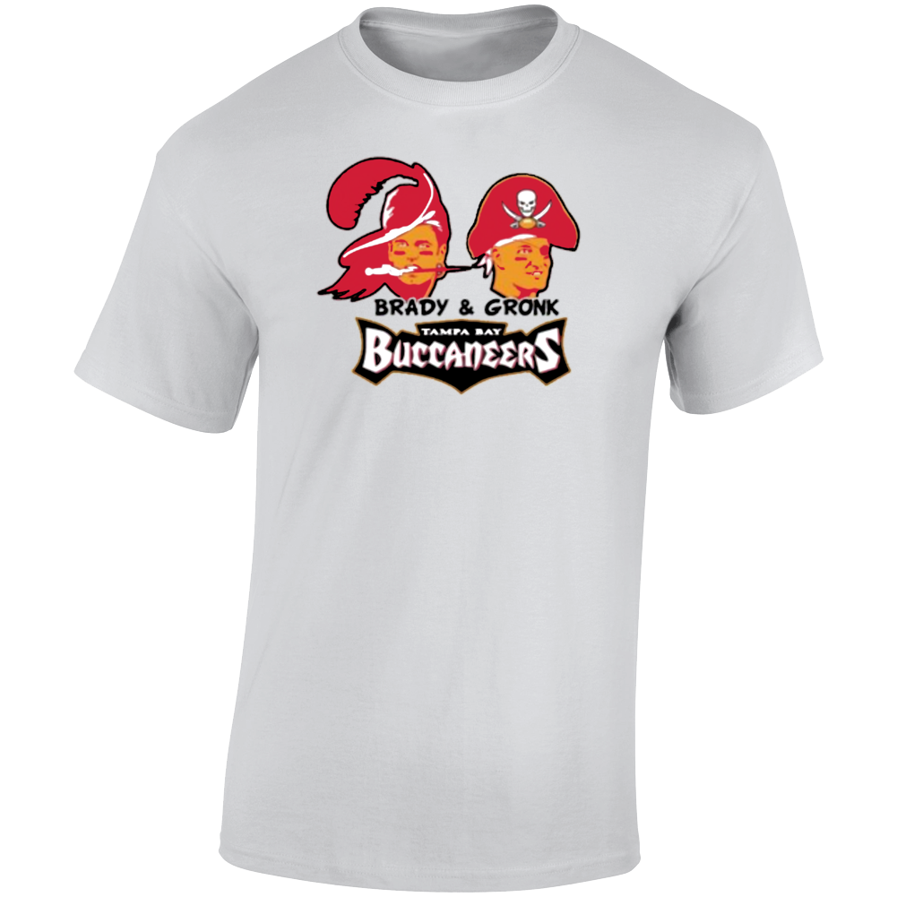 Tom Brady Rob Gronkowski Tampa Bay Football T Shirt