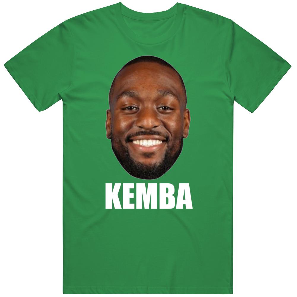 Kemba Walker Big Head Silhouette Boston Basketball Fan T Shirt